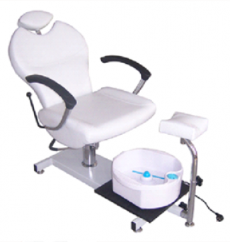 Луксозен стол за педикюр с ваничка за хидромасаж - EW-9501