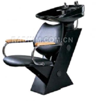 Колона с плитка черна мивка - ВБ-3534
