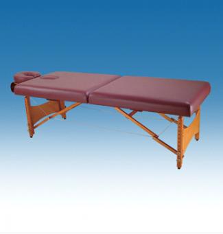 Дървена кушетка с опора за главата и регулируема височина - WB-3375