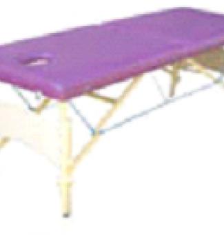 Дървена кушетка с тапицерия 6 см - МТ-003