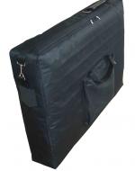 Транспортен куфар с колан, чанта и допълнителна дръжка