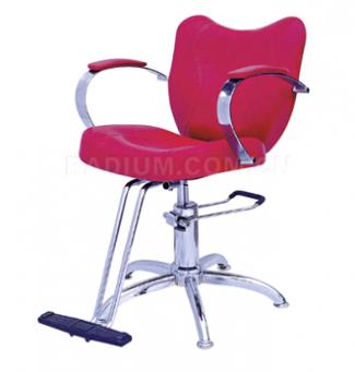Фризьорски стол с хидравлика, и опора за краката - ВБ-3855