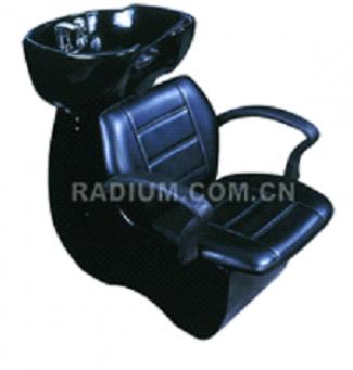 Измивна колона с дълбока черна мивка - ВБ-3517