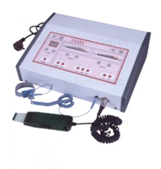 Ултразвуков апарат за почистване на кожата с шпатула + йонофореза - Б-638А