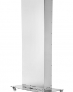 UV-C бактерицидна лампа за дезинфекция на въздух в присъствието на хора AIR FLOW UV STERIL 750. На масивна метална основа на колела.